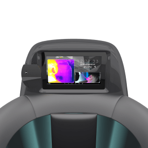 thermal camera in cryotherapy chamber