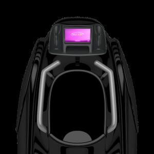 Fitness treadmill vacuum