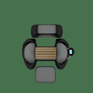 Rouleau de drainage lymphatique myofascial Rollshape