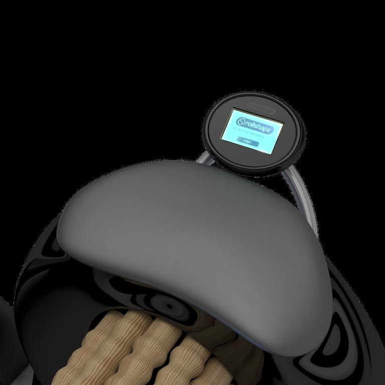 Roller massage treatment