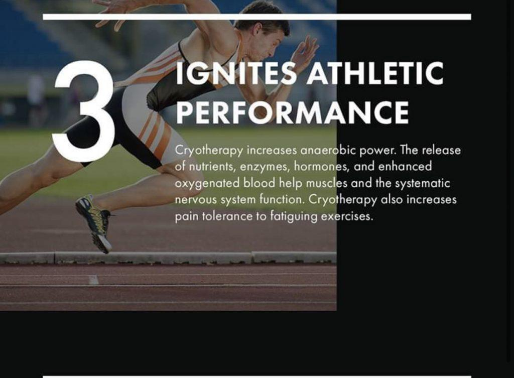 Athletic performance cryotherapy