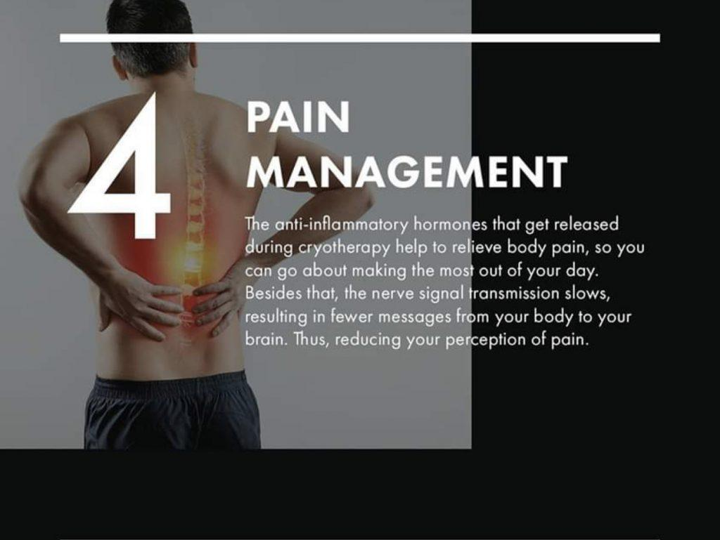 Pain management therapy