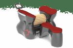 RollStar лимфен масажен валяк